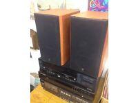 Kef Cresta 10 100w speakers