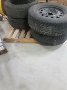 3 different sets of tires for sale