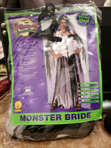 Monster bride costume for adults