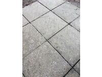 Paving slabs 600 x 600 40mm thick patio 188 approx 70 square metres m2