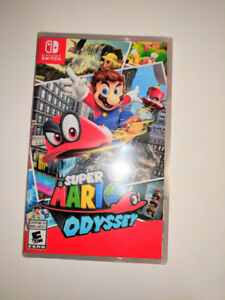Super Mario Odyssey - Nintendo Switch - Brand New & Sealed