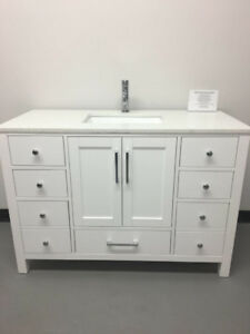 "36"",48"" Wood Bathroom Vanities (warehouse Sale +Free Faucet)"