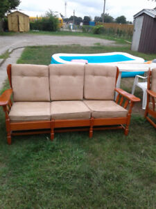 couch & 2 chairs