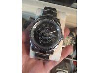 Rolex sky dweller black dial and pro hunter on sale