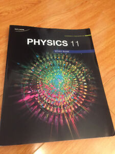 NEW Nelson Physics 11 Study guide for $5
