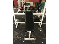 Olympic Incline Chest Bench Press Bench