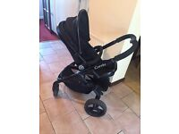 iCandy Peach 3 in Jet Blossom Double Pushchair