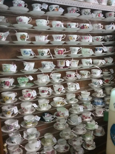 Cups&saucers, dishes, books, collectibles plus 1000 booths