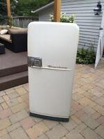Retro 1950's Frigidaire refrigerator