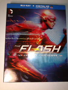 The Flash Complete First season BluRay