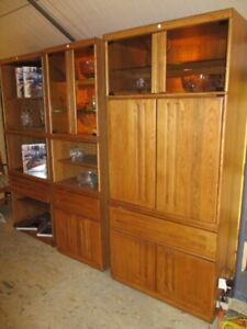 DISPLAY/ENTERTAINMENT CABINETS FROM ESTATE