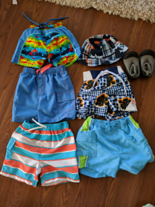 6-12months boys swimsuit
