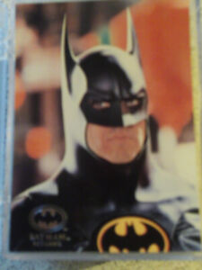 SERIE DE CARTES DE BATMAN RETURNS 1992