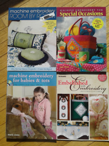 Embroidery and Quilting Books