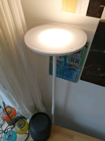 LED uplighter floor lamp x2