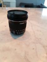 Canon 10-18mm stm lens like new