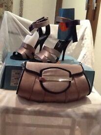 Karen millen bag and shoes