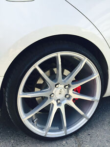 "20"" WHEELS AND TIRES! - CHEAP! MUST GO!"