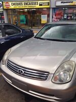 2004 INFINITI G35 X IN MINT CONDITION FOR SALE