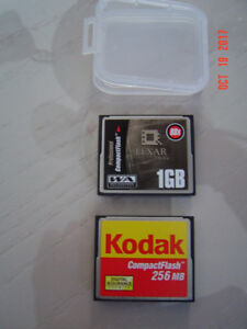 CARTES COMPACT FLASH