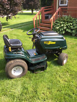 15.5 hp yard works lawn tractor