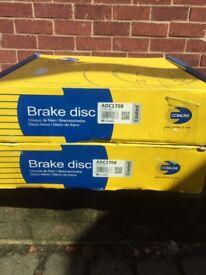 BMW X5 rear brake disc's