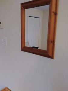Antique pine mirror for sale