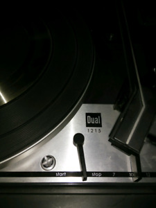 Vintage turntable Dual-1215 Noresco