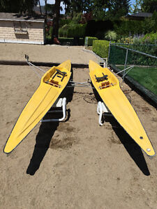 2 Rowing Sculls
