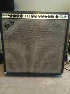 1979 fender super reverb tube amp  point to point wiring