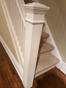 Wanted. Old stair case, post and lintel casing