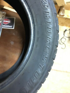 Bridgestone tires 275/55 R20