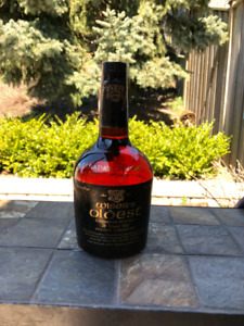 1958 Wiser's Oldest Canadian Whisky