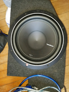 Subwoofers, Amp, 2 Boxes and wiring
