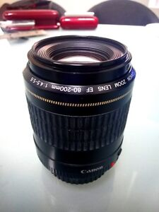 Canon Zoom Lens EF 80-200 F4.5-5.6