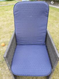 Homebase 2 Recliner chair Cushions Navy