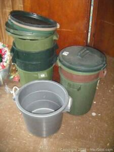 Garbage Pails And Tote B