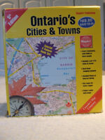 MAPBOOK Collection for ALL  Ontario Cities and Towns-$20