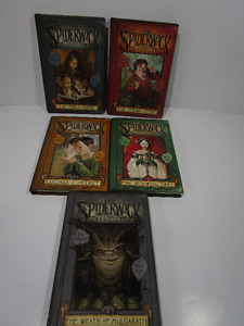 5 Hard Cover Books of Spiderwick