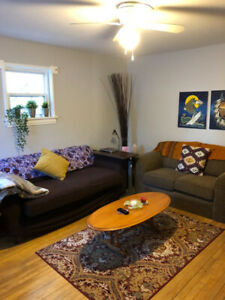 Fully Furnished April/May 1st - August Room Rental - Female Only