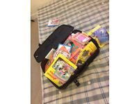 Suitcase of kids books