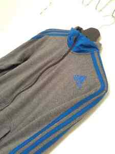 Adidas Sweater Grey and Blue Climawarm Kitchener / Waterloo Kitchener Area image 2