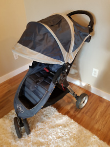 Baby Jogger City Select Mini WITH accessories - Single Blue/Grey