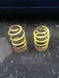 Mark 4 golf apex front lowering springs