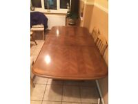 Solid oak table £80ono