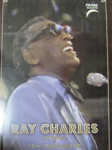 RAY CHARLES in Concert with the EDMONTON SYMPHONY Recorded Jan 2