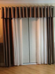 Maison décoration Habillage fenêtre rideau et Valence