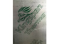 Kingspan 100mm PIR insulation boards 8'x4' like celotex
