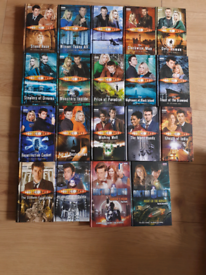 Bundle of 19 BBC Doctor Who hardback fiction books for young people