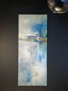Beautiful textured canvas Abstract art - Hand painted., used for sale  Calgary